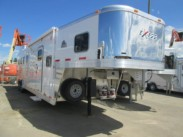2014  4 Horse Exiss with 10ft Living Quarters