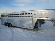 2015 Exiss Stock Trailer – 28ft, 8ft wide