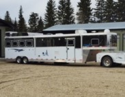 2012 4 Horse Sooner with 15ft Living Quarters (Used)