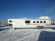 2008, 4 Horse Cherokee Super Chief with 15ft. Living Quarters (used)
