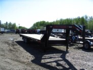 2016 24ft Double A Gooseneck Equipment Trailer 14,000 GVWR