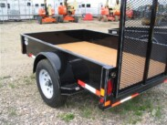 2017 Double A 5X10 Utility Trailer with 4ft ramp – Excel Series