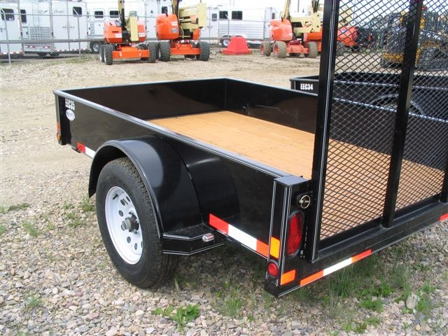 2017 Double A 5x10 Utility Trailer With 4ft Ramp  U2013 Excel