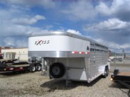 2015  24ft Exiss Stock Trailer 7ft high