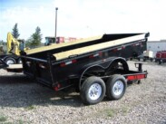 2016 Low Profile 14ft Dump Trailer 14,000 GVWR