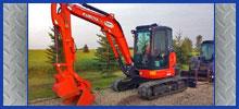 4, 6, & 8 Ton Class Excavators
