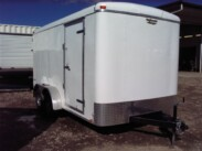 2019 7X14 Continental Cargo Enclosed Trailer with barn doors