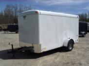 6X12 Continental Cargo Enclosed Trailer with ramp
