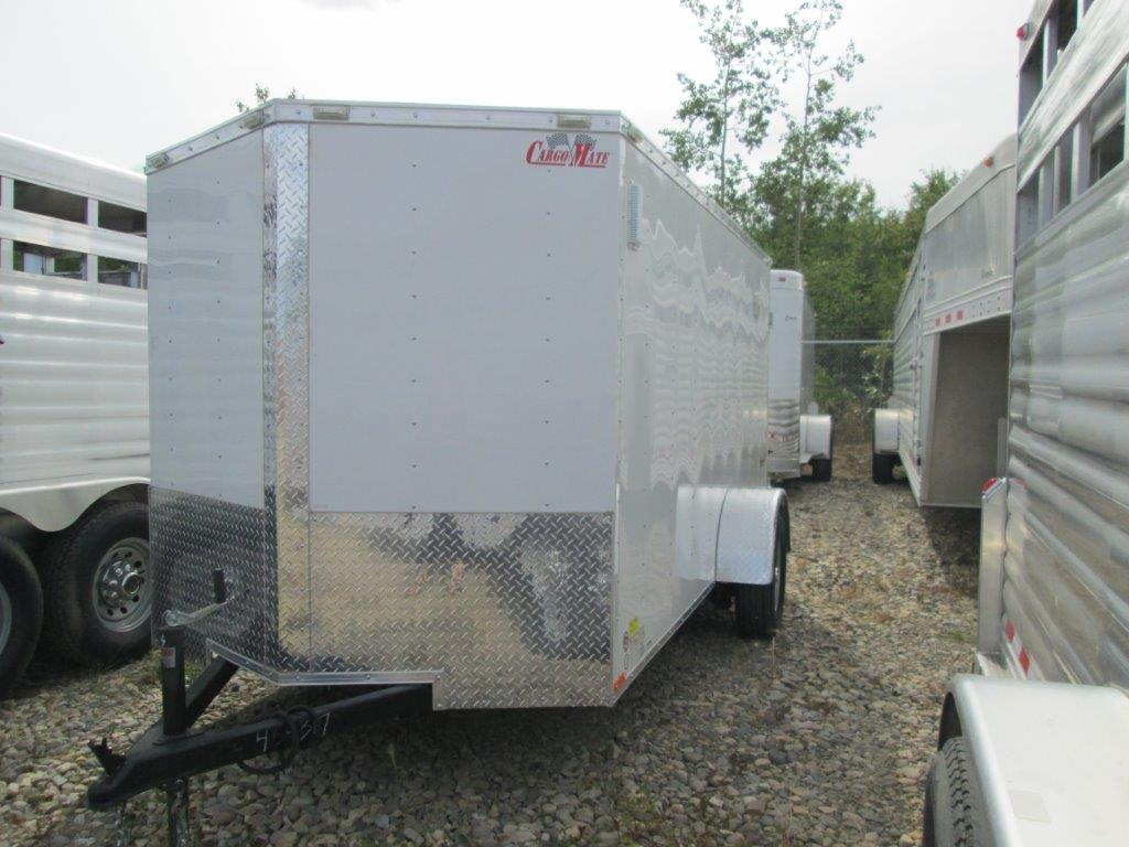 2016 6x12 Cargo Mate Enclosed Trailer Barn Doors