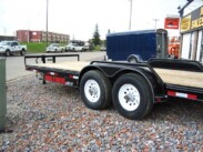 2017 20ft Double A Equipment Trailer – 14,000lb GVWR Torsion upgrade