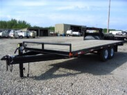 2016  20ft Double A Deckover Equipment Trailer 14,000 GVWR Torsion Upgrade – 2  Trailers Available