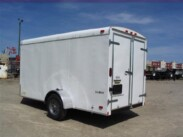 6X12 Continental Cargo Enclosed Trailer Barn Doors