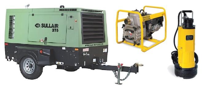 Air Compressors & Pumps
