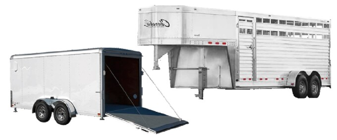 Enclosed Trailers and Stock Trailers