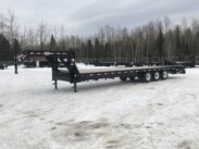 2017 PJ – 32 Ft Gooseneck Flat Deck Trailer